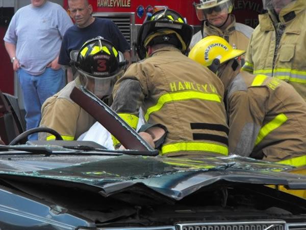 Hawleyville Volunteer Fire Department responds