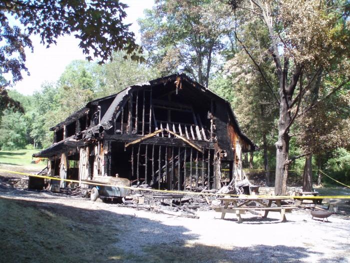 Lake George Road Fire