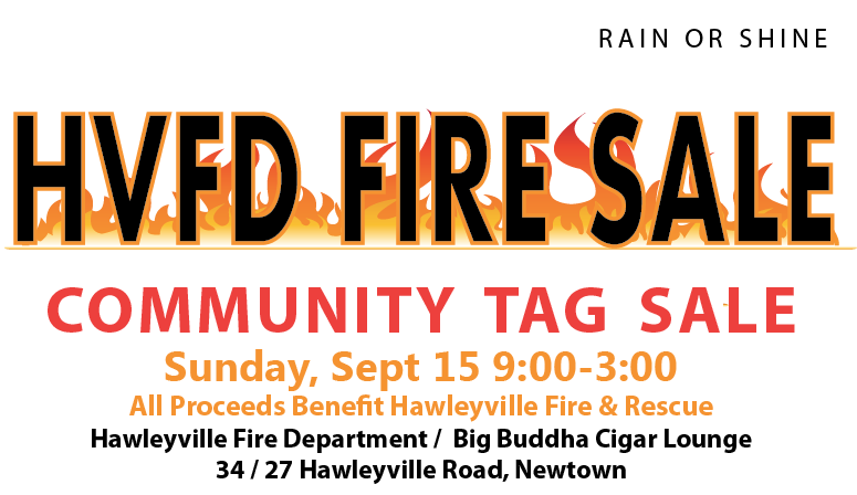 Hawleyville Volunteer Fire Department Tag Sale