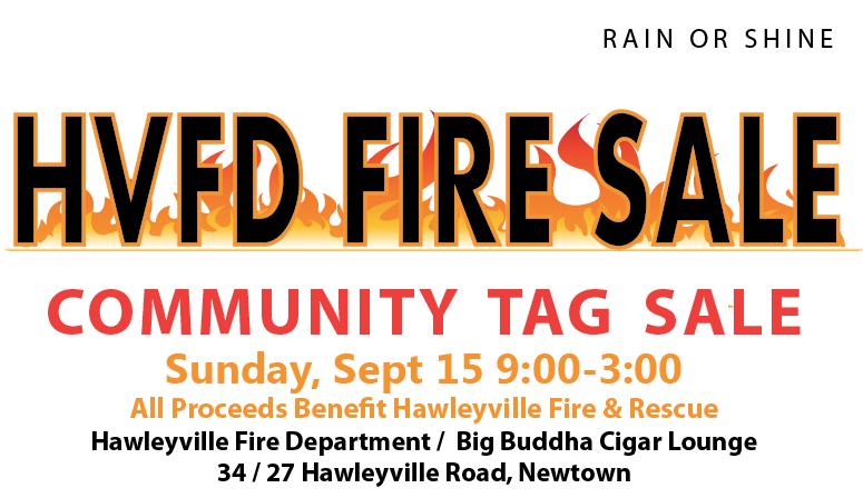 Hawleyville Volunteer Fire Department Tag Sale