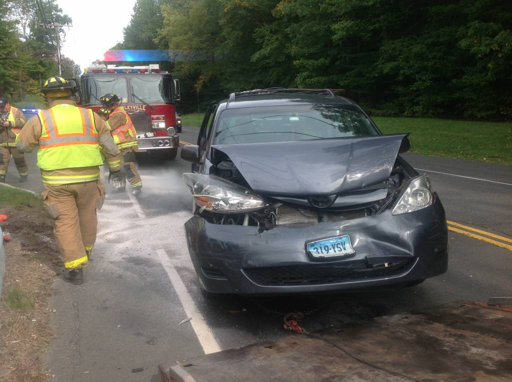 Two car Accident on Mt. Pleasant Road