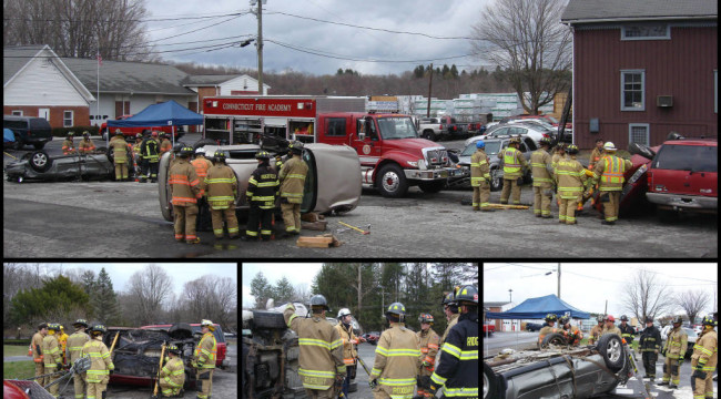 Extrication Class Held At HVFD