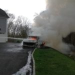 Fully Involved Vehicle Fire