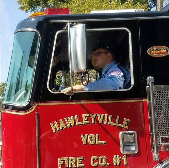 Marty Basso, Hawleyville Fire Department